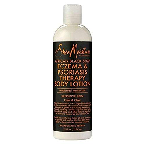 Sheamoisture African Black Soap Eczema & Psoriasis Body Lotion - 12 Oz