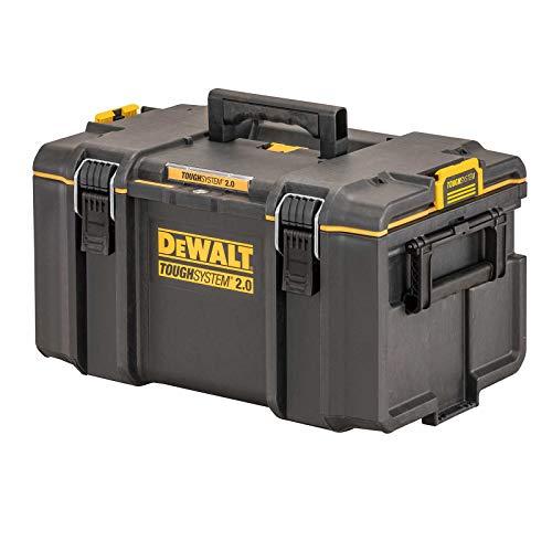 Dewalt DS300 Werkzeugbox DWST83294-1 (ToughSystem 2.0, große Werkzeugbox für allgemeinen Einsatz, IP65 - staubdicht und spritzwassergeschützt, max. Traglast 50kg)