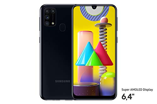 Samsung Galaxy M31 Smartphone (15,92 cm (6,4 Zoll) 64 GB interner Speicher, 6 GB RAM, Android, black) Deutsche Version - exklusiv bei Amazon