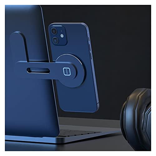 FENGFENG Zmin Store 2021 Fit para Tesla Fit para el modelo X S Y 3 Accesorios Soporte de teléfono de coche Imán para ordenador portátil Tablet Mount para iPhone 12/12Pro/12 Pro Max (Color: Plata)