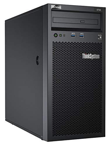 Lenovo Thinksystem ST50 Server (Intel Xeon E-2124G 4+2C 3.4GHz 71W, 1x8GB, 1Rx8, sw, RD) Schwarz