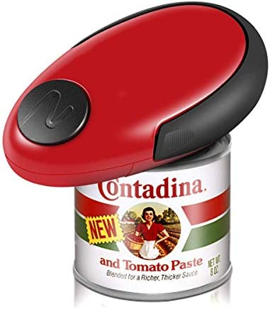 Electric Can Opener Kitchen Can Opener with Smooth Edges and Light Weight best Kitchen Gadget product image