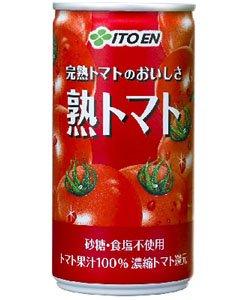 伊藤園 熟トマト 〔缶〕190g×20本×2箱(40本)