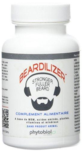 Beardilizer - Erste Bartwuchs Lösung Für Männer - 90 Kapseln