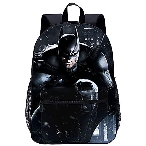 3D Cartable avec Ecole Garcon Sac Scolaire Batman...