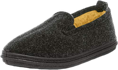 Slippers International Men's 400P Slipper,Charcoal,11 M