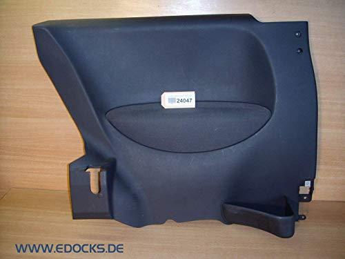 Türverkleidung Seitenwand Verkleidung hinten links anthrazit Corsa C 3-Tür Opel