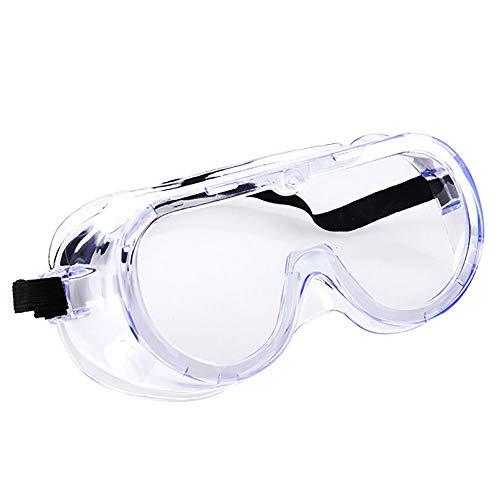 Occhiali protettivi con lente antiappannamento Occhiali protettivi antispruzzo Protezione degli occhi per la casa e il posto di lavoro in classe (Lente trasparente) …
