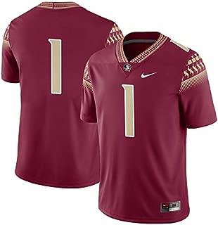 Nike #1 Florida State Seminoles Football Game Jersey - Garnet