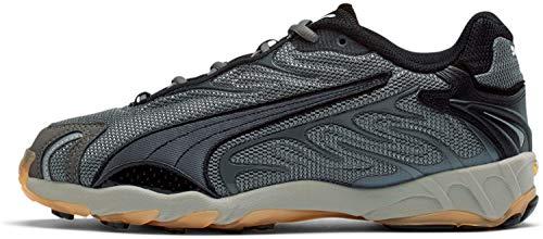 PUMA Use out Herren Inhale Sneaker, Grau (Castlerock/Puma Schwarz), 40 EU thumbnail