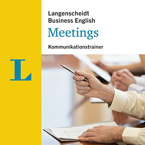 Meetings - Kommunikationstrainer (Langenscheidt Business English) Titelbild