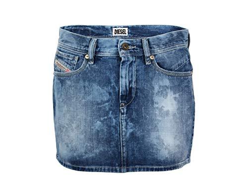 Diesel Damen Jeans Rock Blue Used Gr.27