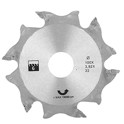 Sega circolare Disco smerigliatrice angolare Sega circolare Disco 100MM Argento denti in metallo finitura Seghe per la lavorazione del legno Generale industriali per risolvere Housing