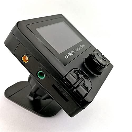TAHMM Retro Autoradio Dab + Auto Radio Receptor Bluetooth Dab Adaptador LCD Pantalla LCD Pantalla Digital Broadcast HZ AUX Calidad DE Sonido Permitido (Size : A)