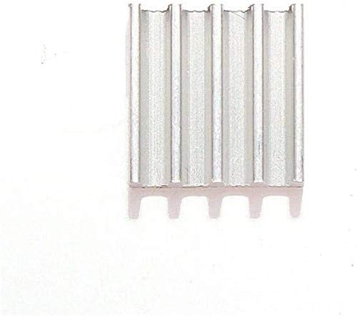 FORETTY DIANLU43 9 * 9 * 5mm Aluminum Heat Sink with Adhesive for A4988 Stepper Motor Driver Module 3D Printer Industrial Stable Performance