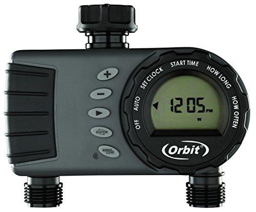 Orbit 96782 'Buddy II HF' Two-Port Digital Tap Timer