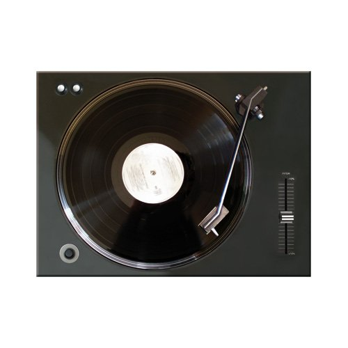 Nostalgic-Art 14294 Retro Wave - Retro Vinyl Player, Magnet 8x6 cm