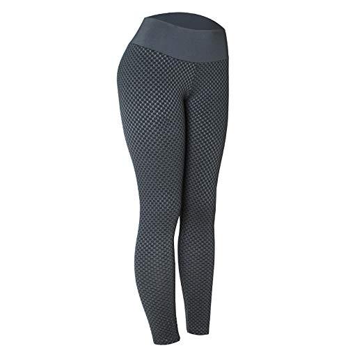 Blouse met V-hals,Bodybuilding yogabroek, sportbroek met hoge taille-zwart_M,Dames Sexy casual herfst losse tops met lange mouwen