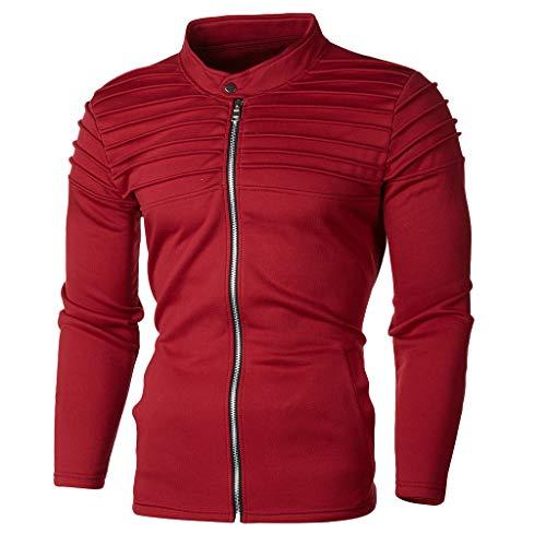 Longra Herenpullover, hoodie, sport, eenkleurig, lange mouwen, pullovers, ritssluiting, bomberjas, modieus, herfst, winter, sweatshirt met capuchon, broek, kostuum