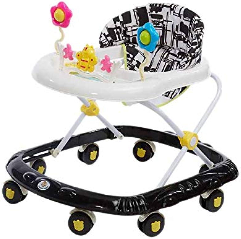 Sin impuestos Yangs Yangs Yangs Andador Multifuncional para bebés, Baby Walker6   7-18 Meses de música Plegable Trolley de Juguete Trolley Prevención ( Color   C )  directo de fábrica