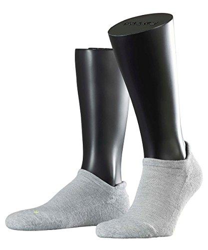 3 Paar Falke Socken 16609 Cool Kick SN Sportlicher Sneaker UNISEX , Farbe:Light grey 3400;Socken & Strümpfe:42-43