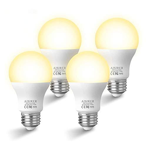 Lampadina Smart E27 AISIRER Lampadina WiFi Intelligente 9W Equivalente a 60W 806LM Compatibile con...