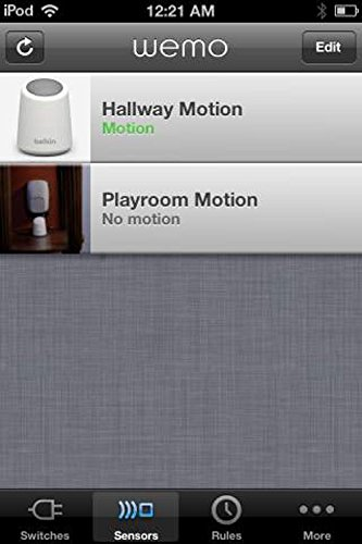 Belkin Wemo Home Automation Switch mit Motion-Sensor, intelligente Steckdose für iOS- und Android-Geräte - 11