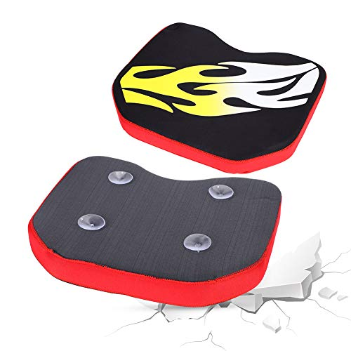 T osuny Floating kayak Cushion Seat Comfortable Kayak Seats With Four Suction Cups Soft Padded Seat Cushion Pad Boat Sit Seat Cushion Pad Accessory(Flame)