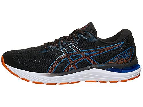 ASICS Men's Gel-Cumulus 23 (2E) Running Shoes, 10W, Black/Reborn Blue