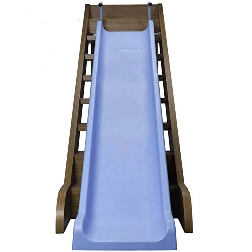 The Magic Toy Shop Kids Indoor Outdoor Slide for Stairs All Weather Fun Toddler Playground Equipment
