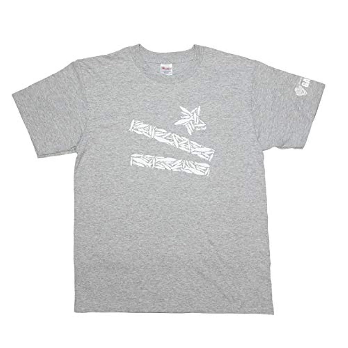スカート暖炉傭兵ガンクラフト ラッキーリップルアーズTシャツ GAN CRAFT