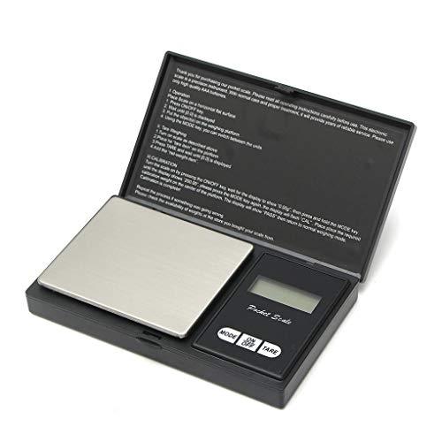 Yongse 0.01g-500g Elektronische Pocket Mini Digitaal LCD Goud Weegschaal Gram