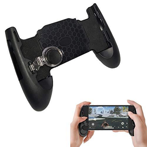 litty089 Joysticks Game Controller Controlador De Juegos Portátil para Teléfonos Móviles Gamepad Holder Gaming Trigger para PUBG Negro
