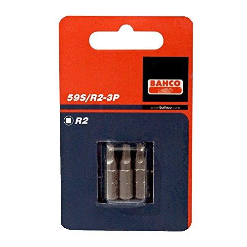 Bahco 59S/R2-3P BH59S/R2-3P Bits für Robertson-Schrauben 25mm R2 3 Stück