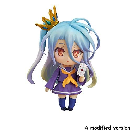 Xiaoping No Game No Life: Shiro Nendoroid Action Figure (Purple)