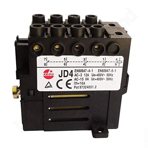 BUZE Orginal Kedu Motorschütz (Relais) Auswahl JD4 mit 4 Schließer 400V 50Hz Elektromechanische Relais