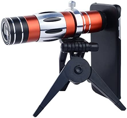 Apexel 18x Zoom Manual Focus Telephoto Lens 150x Super Macro Lens with Back Case for Samsung product image