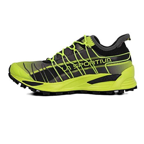 La Sportiva Mutant, Zapatillas de Trail Running Hombre, Multicolor (Apple Green/Carbon 000), 43.5 EU