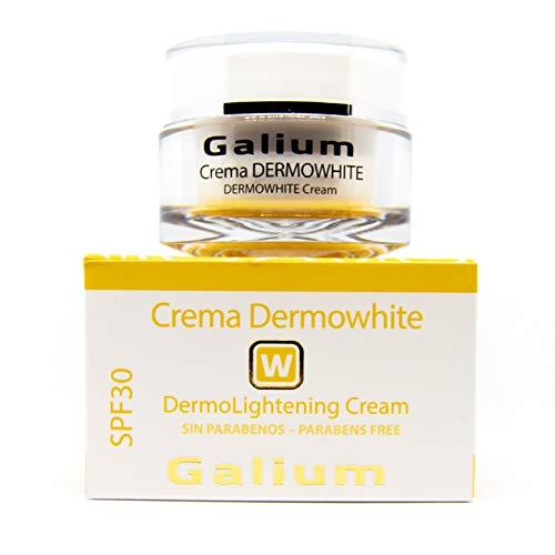 Crème Dermowhite   50 ml   Unifie le teint, RÉDUIT la Taille et l'Intensité des Taches   Antitaches   Protection UVB et UVA   Formulée et Fabriquée da