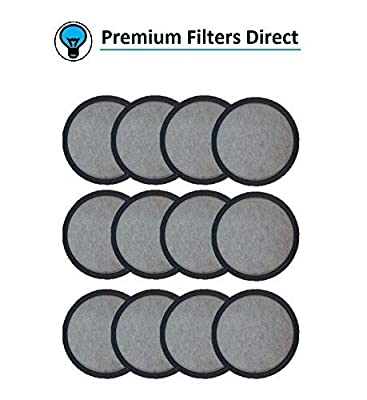 Premium Replacement Charcoal Water Filter Disk for Mr. Coffee Machines by Premium Filters Direct