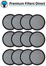 Premium Replacement Charcoal Water Filter Disks for Mr. Coffee Machines – 12 Pack