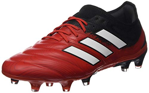 adidas Copa 20.1 FG Mens Football Boots Soccer Cleats (UK 9 US 9.5 EU 43 1/3, Action red White Black EF1948)
