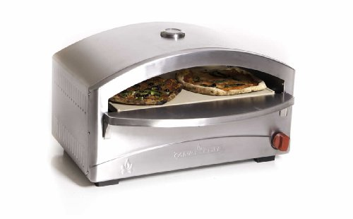 Camp Chef Italia Artisan Pizza Oven, Stainless Steel, 15 in. x 26 in. x 16