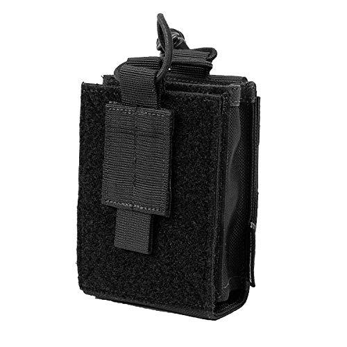 OneTigris Pochette tactique Molle 1000D en nylon pour radio-pilotage