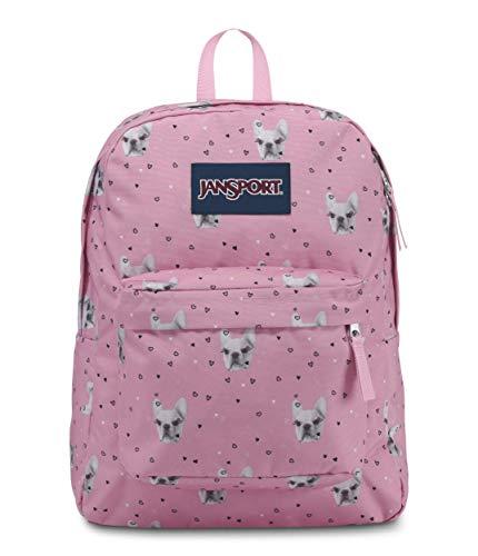 JanSport Superbreak Backpack, Fierce Frenchies