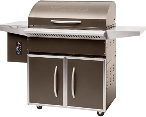 Traeger TFS60LZC Grills Select Elite Wood Pellet Grill and Smoker - Grill, Smoke, Bake, Roast, Braise, and BBQ (Bronze)