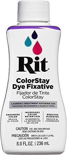 Rit Dye RIT COLORSTAY, 8 fl oz, Dye Fixative, Limited Edition
