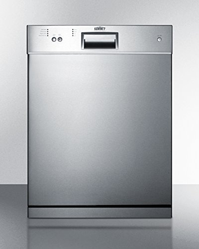 Dishwasher 23.5' Built-In Countertop Stainless Steel Euro Kitchen Appliance SALE