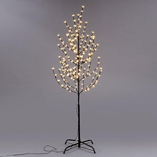 OregonTools 1.5M/5FT 160LED Cherry Blossom Tree Light Creative Home Floor Lamp Warm White US