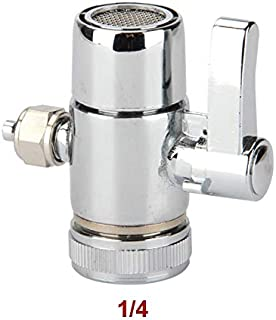 Fumak: Faucet Adapter Diverter Valve Counter Top Water Filter 1/4 Inch Tube Connector